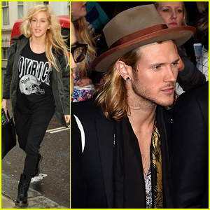 Ellie Goulding & Dougie Poynter Have a 'Gone Girl' Date Night!