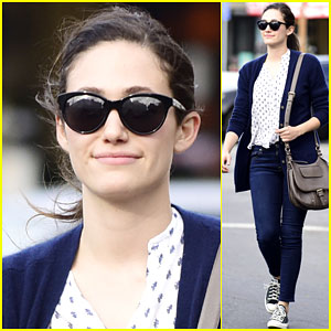 Emmy Rossum Makes a Dad Joke on Twitter