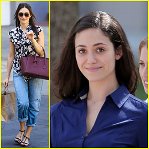 Emmy Rossum was So Excited to Try Out a Sleeping App That She Woke Up Early!