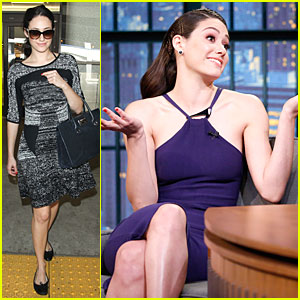 Emmy Rossum Bonded With Hilary Swank During Shower Scene In 'You're Not You'