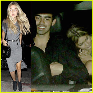 Gigi Hadid & Joe Jonas Arrive In the Same Car at Kings of Leon Concert After Party