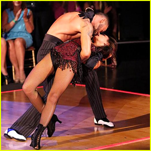Janel Parrish & Artem Chigvintsev Bring Sexy Back with 'DWTS' Burlesque - See the Pics!