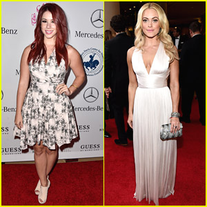 Jillian Rose Reed & DWTS' Peta Murgatroyd Step Out For Carousel Of Hope 2014