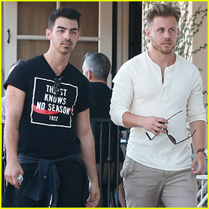 Joe Jonas is Super Thirsty at Alfred Coffee & Kitchen