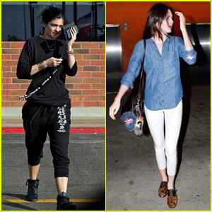 Kendall Jenner Checks Out 'Gone Girl' with Kim Kardashian & Kanye West!