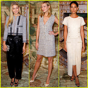 Gigi Hadid & Karlie Kloss Look Super Chic for 'No. 5' Premiere!