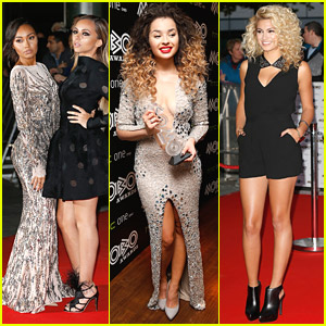 Little Mix & Ella Eyre Wow On Red Carpet at Mobo Awards 2014
