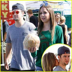 New Couple Alert! Logan Henderson & Makenzie Vega Pack on the PDA While Shopping!