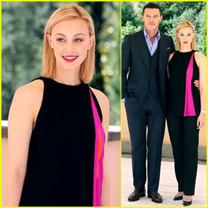 Sarah Gadon's 'Dracula' Co-Star Luke Evans Gets Hilariously Photobombed