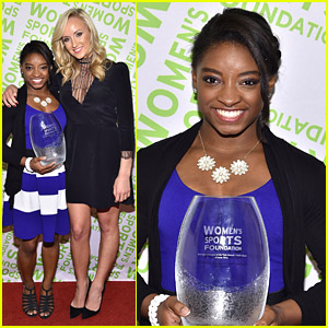 Gymnast Simone Biles Also Nabs Sportswomon Of The Year at Salute To Women In Sports Awards 2014