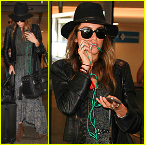 Nikki Reed Travels