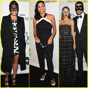 Nikki Reed Gets All Dressed Up for UNICEF's Masquerade Ball