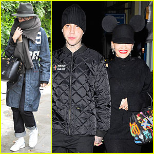Rita Ora Shows Her Mickey Mouse Spirit During Date With Ricky Hilfiger