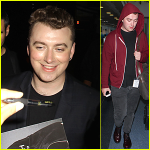 Sam Smith Looks So Happy After Sold Out Los Angeles Concert