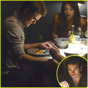Enzo Sticks A Fork In Stefan's Hand on 'The Vampire Diaries' Tonight - Eek!
