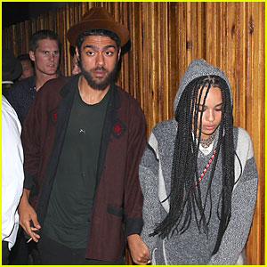 Zoe Kravitz & Noah Becker Walk Hand in Hand at Lily Allen Concert After Party