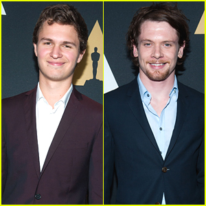 Ansel Elgort & Jack O'Connell Lose The Declaration of Independence During Nicholl Fellowship Awards