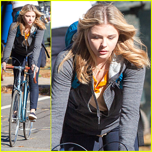 Is Chloe Moretz 'Workign Hard Or Hardly Working' On 'The 5th Wave'?