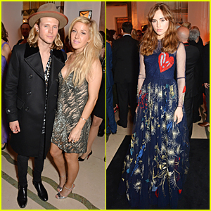 Ellie Goulding & Suki Waterhouse Turn Heads at Harper's Bazaar Women Of The Year Awards 2014