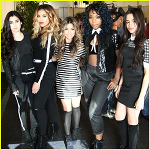 Fifth Harmony Perform At Radio Row Ahead of AMAs 2014