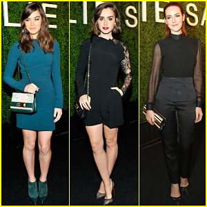 Hailee Steinfeld & Jena Malone Are Two Chic Beauties Celebrating Elie Saab