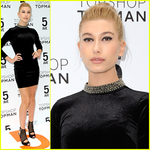 Hailey Baldwin Officially Unlocks The 5th With Topman Topshop