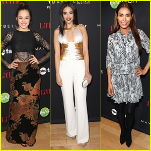 Hayley Orrantia & Edy Ganem Glam Up Latina's 30 Under 30 Party