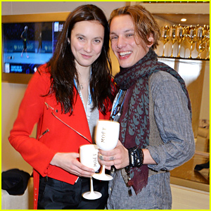 Jamie Campbell Bower & Matilda Lowther Had a 'Rough Sunday' Watching Tennis