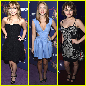 Sammi Hanratty & Joey King Party It Up At JJ's Homecoming Dance With Ever After High!