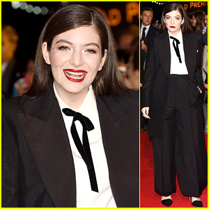 Lorde Fulfills Her Wish, Remembers How to Walk at 'Hunger Games: Mockingjay' Premiere!