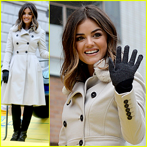 Lucy Hale Goes Country for Thanksgiving Parade! (Video)