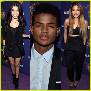 Madison Beer, Jasmine V, & Trevor Jackson Lead the Music Talent at Just Jared's Homecoming Dance!