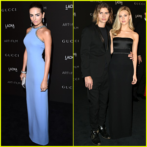 Camilla Belle & Nicola Peltz Go Glam for LACMA Art + Film Gala!