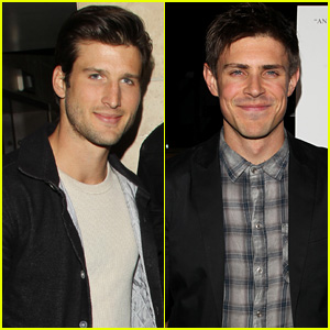 This Parker Young & Chris Lowell Reunion Really Makes Us Miss 'Enlisted'