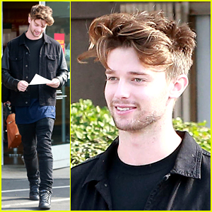 Patrick Schwarzenegger Has Food on His Mind After Miley Cyrus Kiss