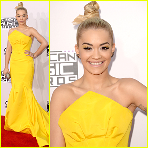 Rita Ora & Her Top Knot Turn Our Heads at the AMAs 2014