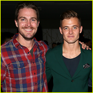 Stephen Amell Supports Pal Robbie Rogers' Book Launch