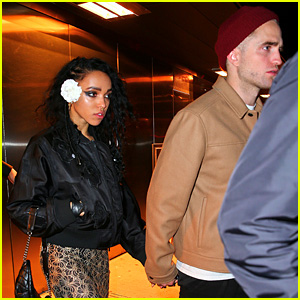 Robert Pattinson & FKA twigs Hold Hands After Her Sold-Out Show in the Big Apple