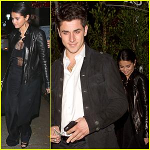 Selena Gomez & David Henrie Meet Up & Reunite for Dinner