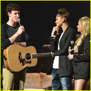 Shawn Mendes Parties It Up With Radio Disney At Their Birthday Party