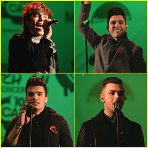 Union J Light Up Meadowhall Shopping Centre For Christmas