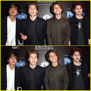 5 Seconds of Summer Performs 'What I Like About You' at People Magazine Awards 2014!