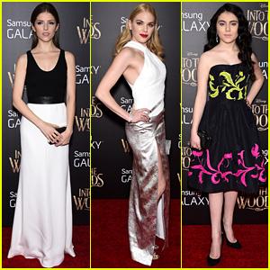 Anna Kendrick, MacKenzie Mauzy, & Lilla Crawford Premiere 'Into the Woods' in NYC!