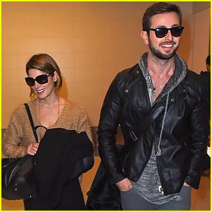 Ashley Greene & Boyfriend Paul Khoury End Thanksgiving with Smiles!
