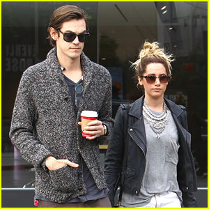 Ashley Tisdale & Husband Christopher French Get Shopping Before Christmas Next Week