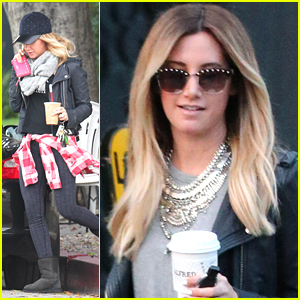 Ashley Tisdale Had To Uber Back To Her Car After Christmas Shopping