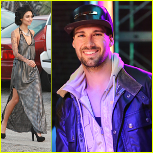 Bianca Santos Shows Off Lots of Leg While James Maslow Shoots 'Wi