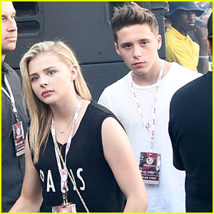 Brooklyn Beckham's First Follow on Twitter: Chloe Moretz!