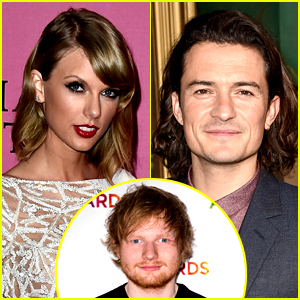 Ed Sheeran Thinks Taylor Swift & Orlando Bloom Should Date!