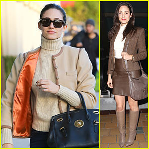 Emmy Rossum Gets Close & Candid With Larry King - Watch Now!